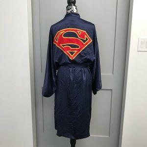 Silk Superman Robe